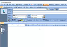 Production task: Basic operations